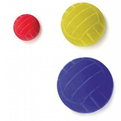 Moosgummi–Ball