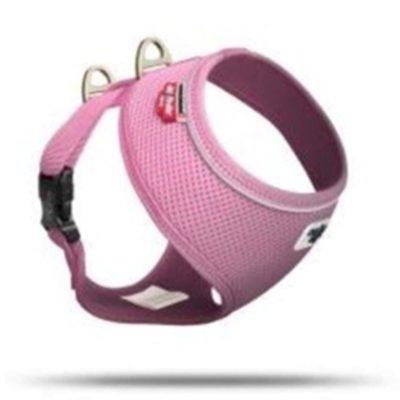 Curli Basic Geschirr Air-Mesh Pink